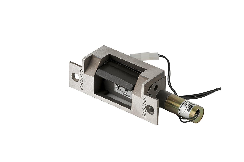 Von Duprin 6211 FSE 12VDC US32D - Llave eléctrica para cerradura cilíndrica, 12 VDC, acabado en acero inoxidable: Amazon.es: Amazon.es