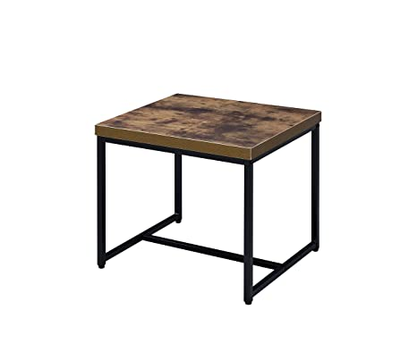 Amazon.com: Acme Muebles 80617 Bob mesa auxiliar: Kitchen ...