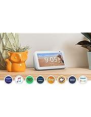 Presentamos el Echo Show 5: una pantalla inteligente y compacta con Alexa, blanco