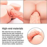 3D Realistic TPE Silicone Cup Toys-Love Doll Soft