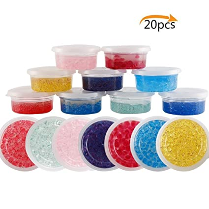 Amazoncom Asien Slime Storage Containers 20 Pack Foam Ball
