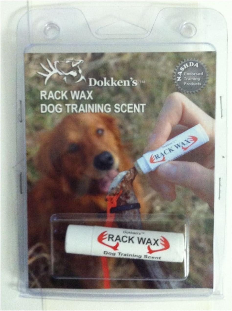 4.25 Grams .15 Ounce Dokken/'s Rack Wax Dog Training Scent