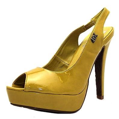 XTI 25176, Damen Pumps Gelb gelb, Gelb gelb Größe: 41