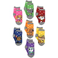 Paw Patrol Boys Girls 7 pack Socks with Grippers (Toddler/Little Kid)