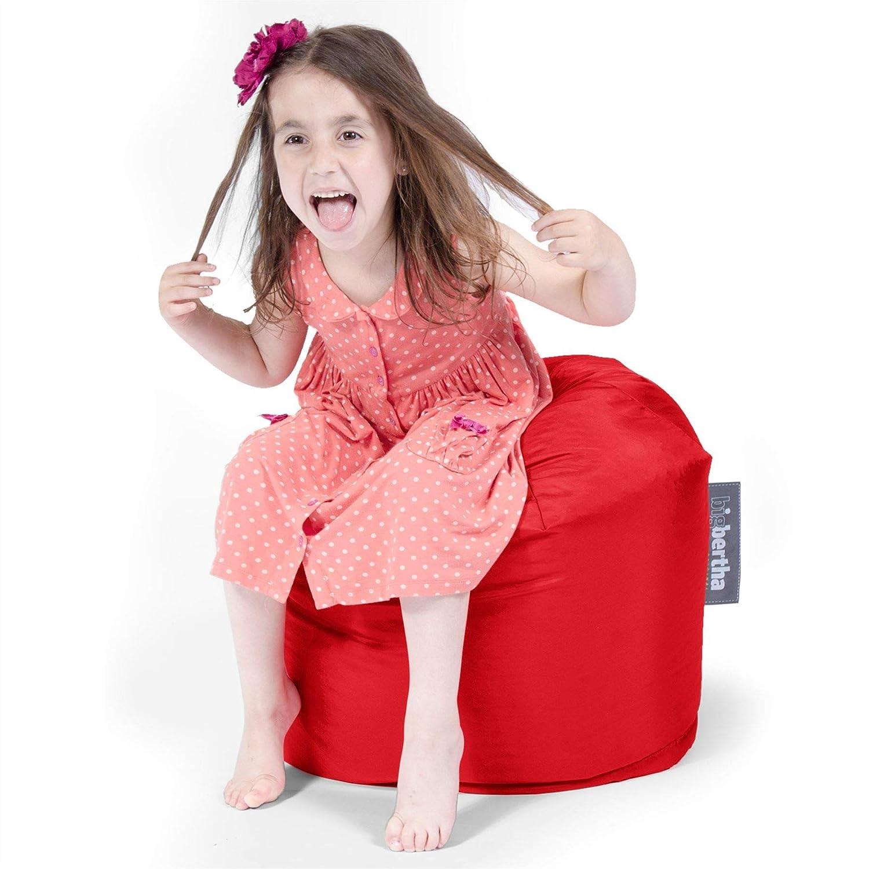 Big Bertha Original, Pouf Paltrona Sacco 'Piccolo Bertha Per Bambini',Rosso
