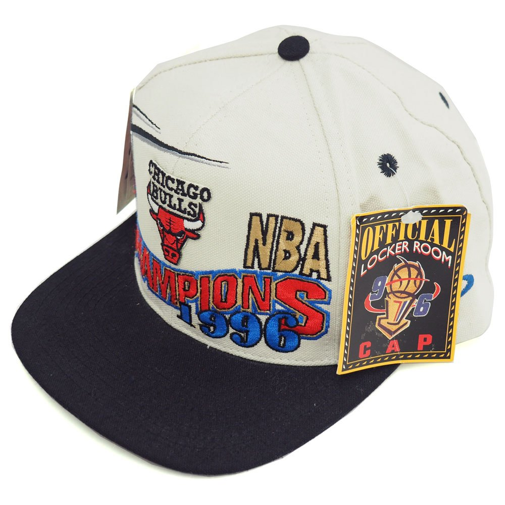 Logo Athletic NBA ブルズ 1996 チャンピオン ロッカールーム キャップ ロゴアスレチック/Logo Athletic -   B0716LQ685