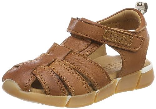 0ba7827f Bisgaard Unisex Kids' Sandalen Closed Toe Sandals, Brown (Cognac), 8.5 UK