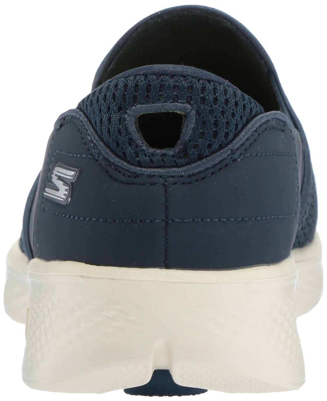 Skechers Women's Go Walk 4-Attuned Sneaker B073GC6XZP 6.5 B(M) US|Navy