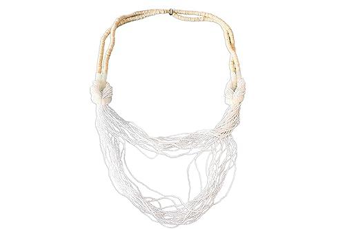 prezzo competitivo c4415 99799 Collana Intrecciata con perline e di Plastica e Legno ...