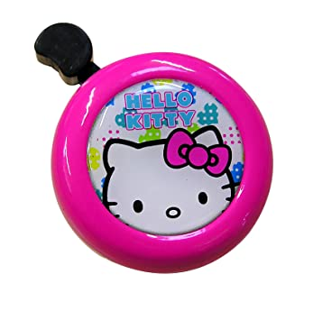 Hello Kitty 26092 - Timbre para bicicleta, color rosa