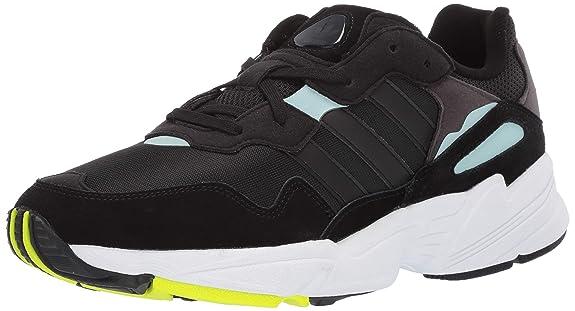 adidas Originals Men's Yung-96, Black/Clear Mint, 8 M US