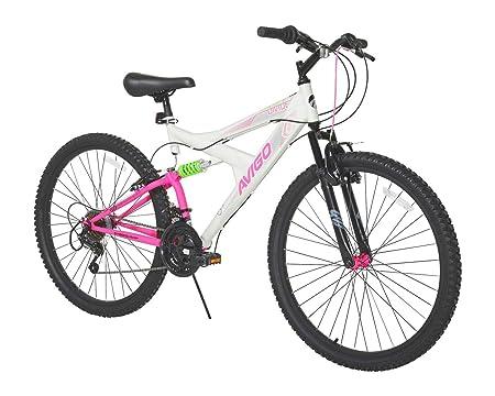 Avigo Double Divide 26' Bike, White, 18'/One Size