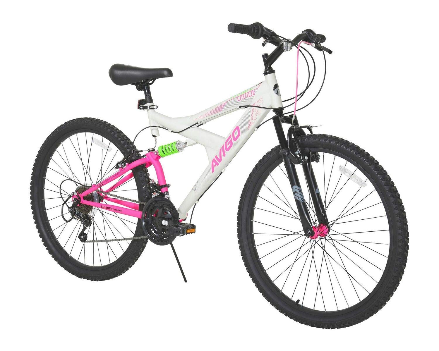 Avigo Double Divide 26'' Bike, White, 18''/One Size