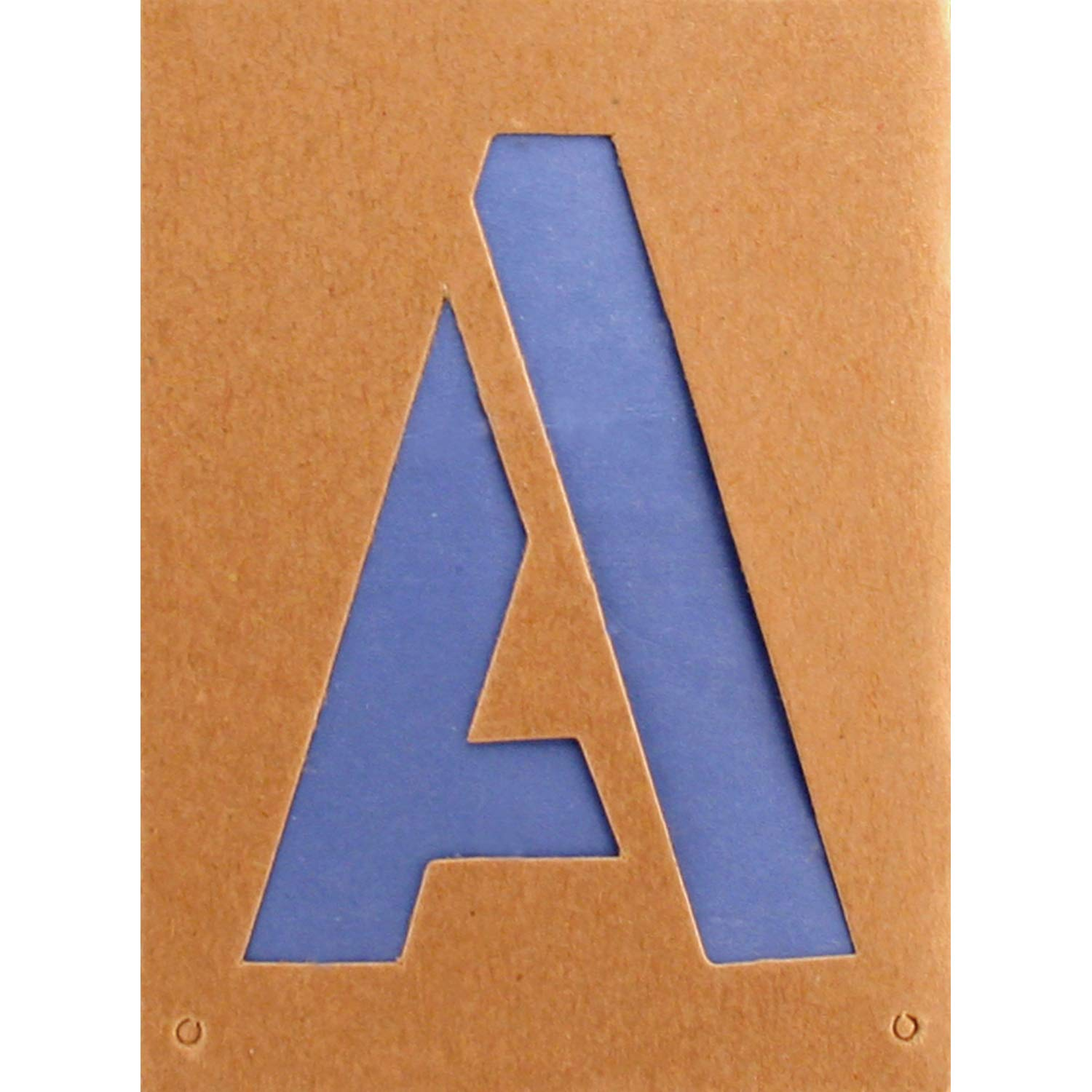 Headline Sign - Letter Stencil Set, 12-Inch Capital Letters A to Z, Reusable, 112-Count