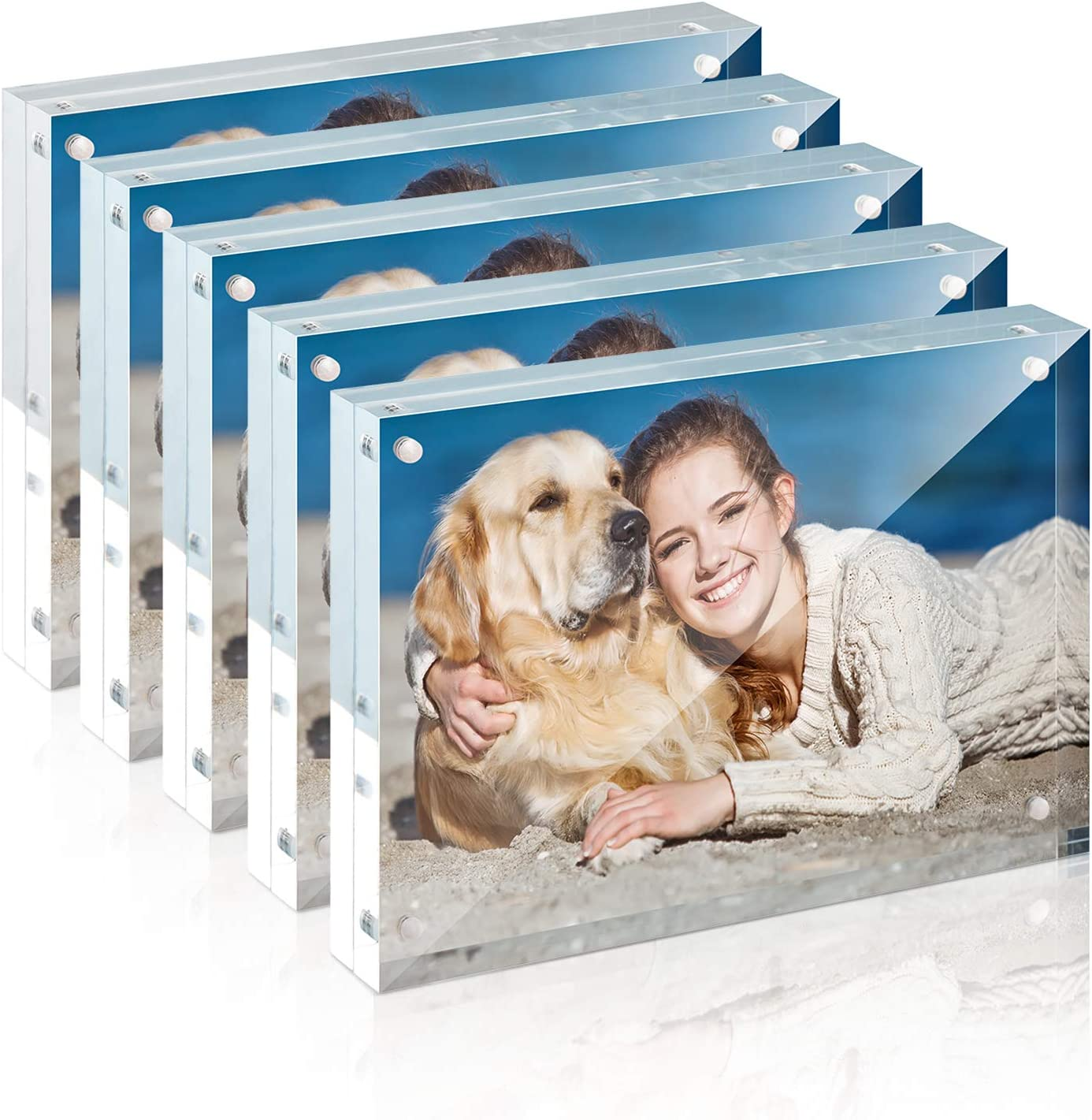 24x6 CGSignLab Coming Soon 5-Pack Victorian Frame Premium Acrylic Sign
