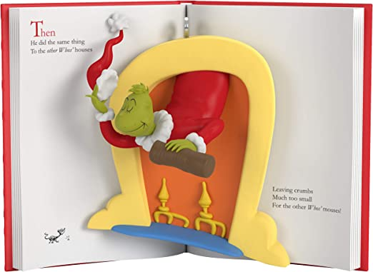 Grinch 2020 Who Likes Christmas Read Amazon.com: Hallmark Keepsake Ornament 2020, Dr. Seuss's How the