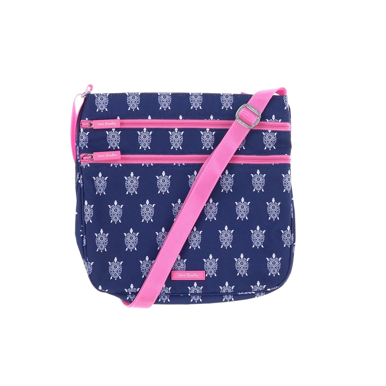 Amazon.com  Vera Bradley Triple Zip Hipster Cross-body Bag - Lightweight  Polyester Fabric Version (Bandana Swirl with Black Interior)  Computers    ... 76f059a7dbd4c