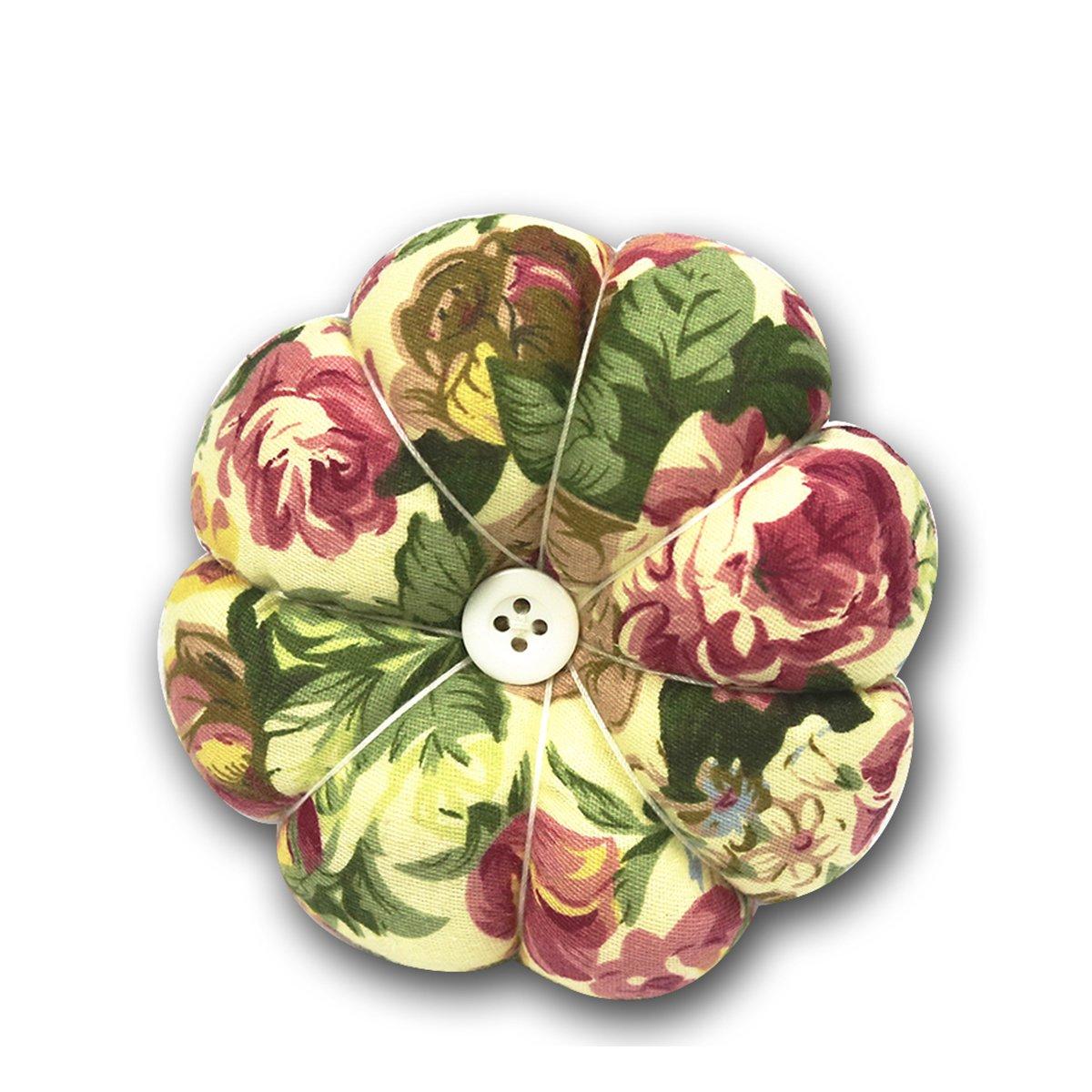 D & D puntaspilli cucito, ago a forma di zucca pin Holder flower D&D