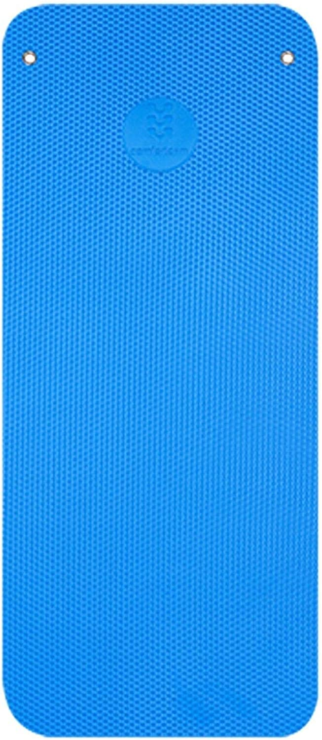 Blue Premium Pavigym Extra Thick ComfortGym Mats Loops for Hanging