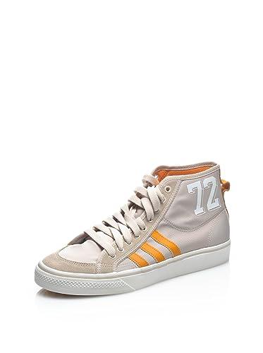 f24048e65b4d97 adidas Hightop Sneaker Nizza Hi Beige Orange EU 45 1 3  Amazon.de ...