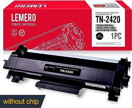 LEMERO Compatible TN-2420 TN2420 TN-2410 TN2410 XL Cartucho de ...