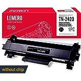 LEMERO Compatible TN-2420 TN2420 TN-2410 TN2410 XL Cartucho de toner [sin Chip] para Brother HL-L2310D HL-L2350DN HL-L2370DN HL-L2375DW DCP-L2510D DCP-L2530DW MFC-L2710DN MFC-L2730DW MFC-L2750DW Impresora , 3000 páginas , Negro