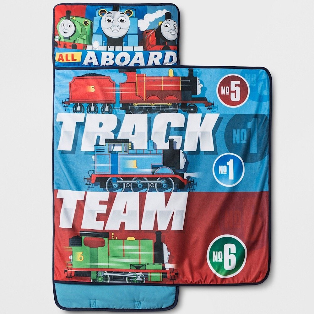 Thomas the Train Kids Nap Mat with Blanket