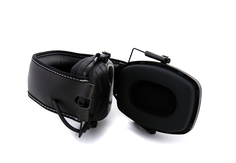 Honeywell 1034490 Howard Leight Impacto Sport orejeras de protecci/ón auditiva negro 1