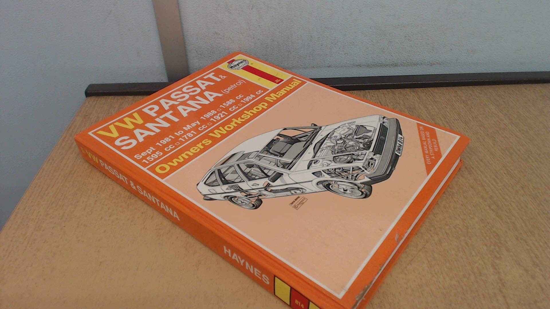 Volkswagen Passat & Santana (Sept '81 to May '88) (Service