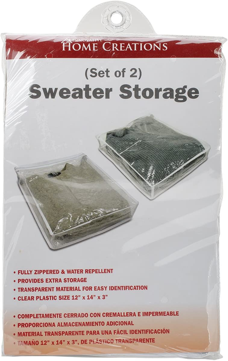 Innovative Home Creations 1326 Sweater Storage Bags, 2-Pack