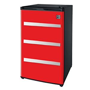 RFR329-Red Garage Fridge