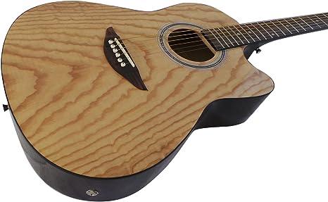 Electro acústica guitarra ecualizador pastilla activa de canal de ...