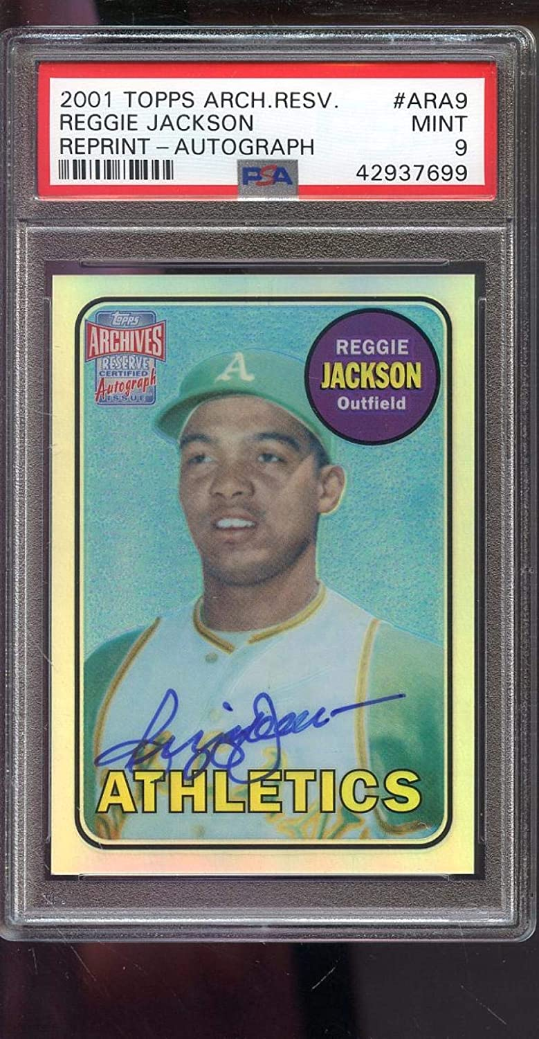 2001 Topps Archives Reserve 1969 Rookie ...