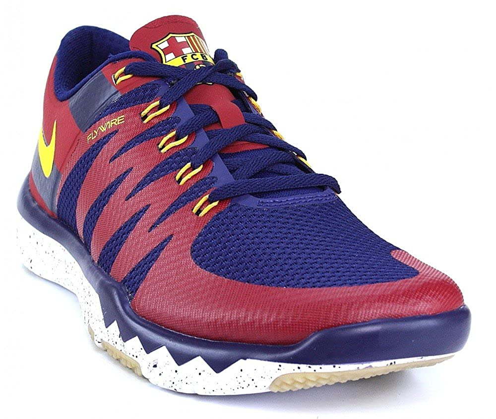 7c7a9d3a463 Nike Free Trainer 5.0 V6 Amp LTD Barca FCB Barcelona 2013 Model 2015  Running Shoes Blue Red Yellow