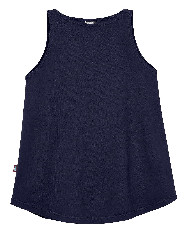 18//24m City Threads Girls Short Sleeve Stylish Modern Tank Top Tunic Top All Cotton for Sensitive Skins SPD Sensory Friendly Navy