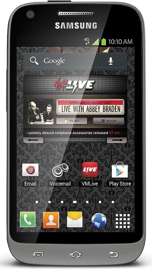 Samsung Galaxy Victory LTE Teléfono Android prepago (Virgin Mobile ...