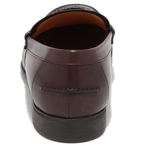 Gucci - Mocasines para Hombre Marrón Negro 6: Amazon.es: Zapatos y complementos