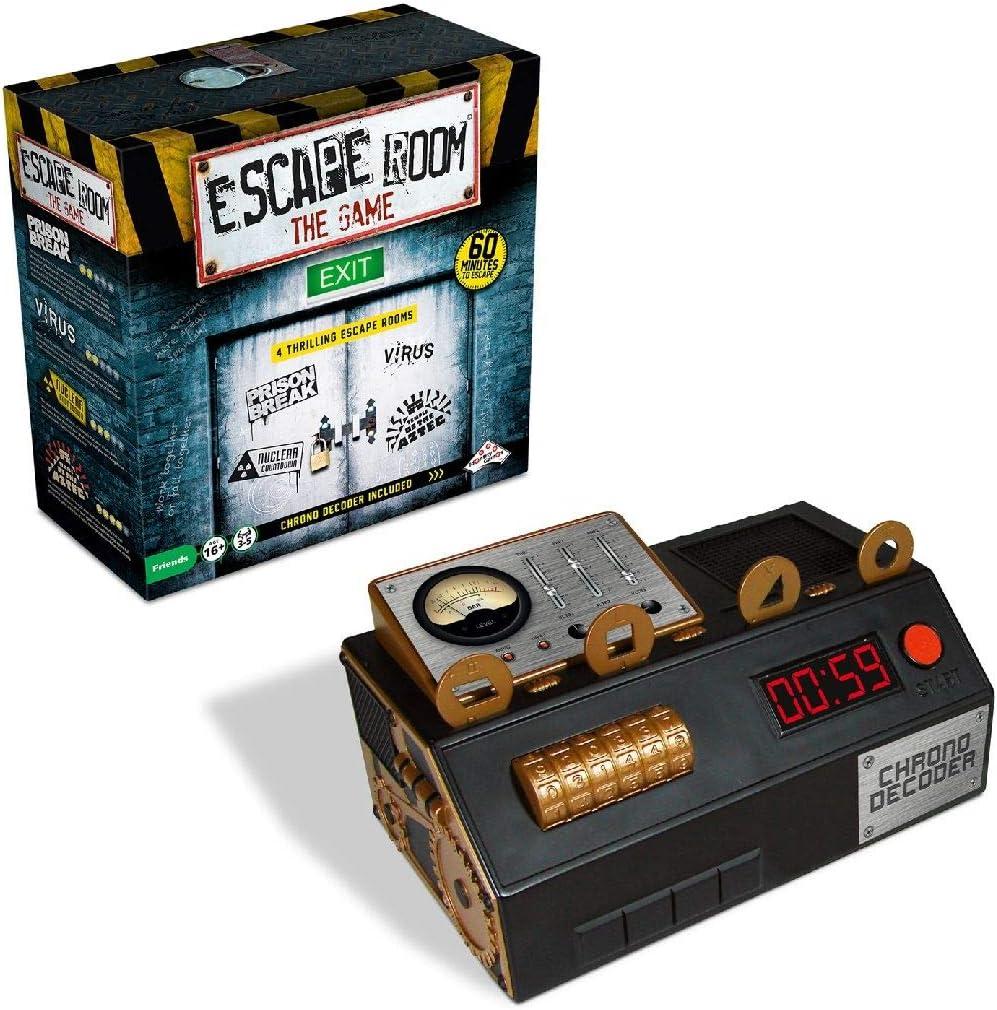 Unbekannt Identity Games 0604014 Escape Room The Game - Juego de Mesa (Contenido en alemán): Amazon.es: Juguetes y juegos