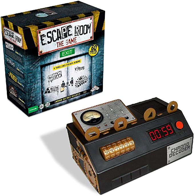 Unbekannt Identity Games 0604014 Escape Room The Game - Juego de ...