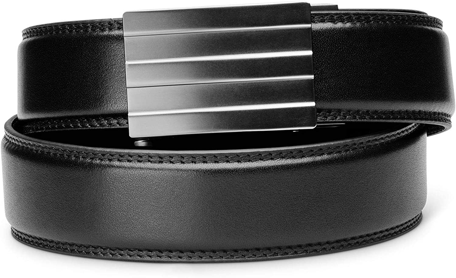 Kore Men S Full Grain Leather Track Belt Endeavor Alloy Buckle At Amazon Men S Clothing Store Kore essentials x5 tactical gun belt (comfortable carry!) kore men s full grain leather track belt endeavor alloy buckle