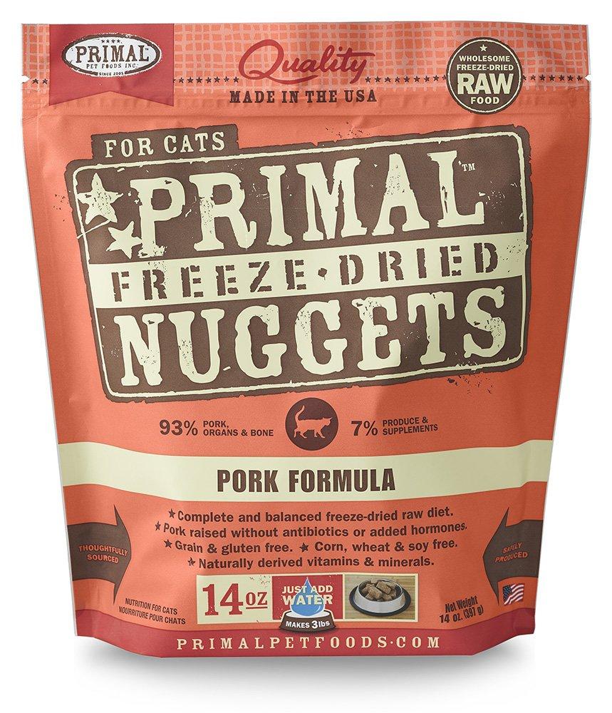Primal Fpkfd14 Pet Foods Freeze-Dried Feline Pork Formula, 14 Oz. by Primal Pet Foods