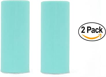 TIFFANY 6x25 yards Tulle Fabric Roll (2 PACKS)