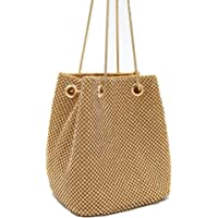 MMYOMI Clutch Women Rhinestone Soft Evening Bag Shoulder Bags Tote Purses Handbags