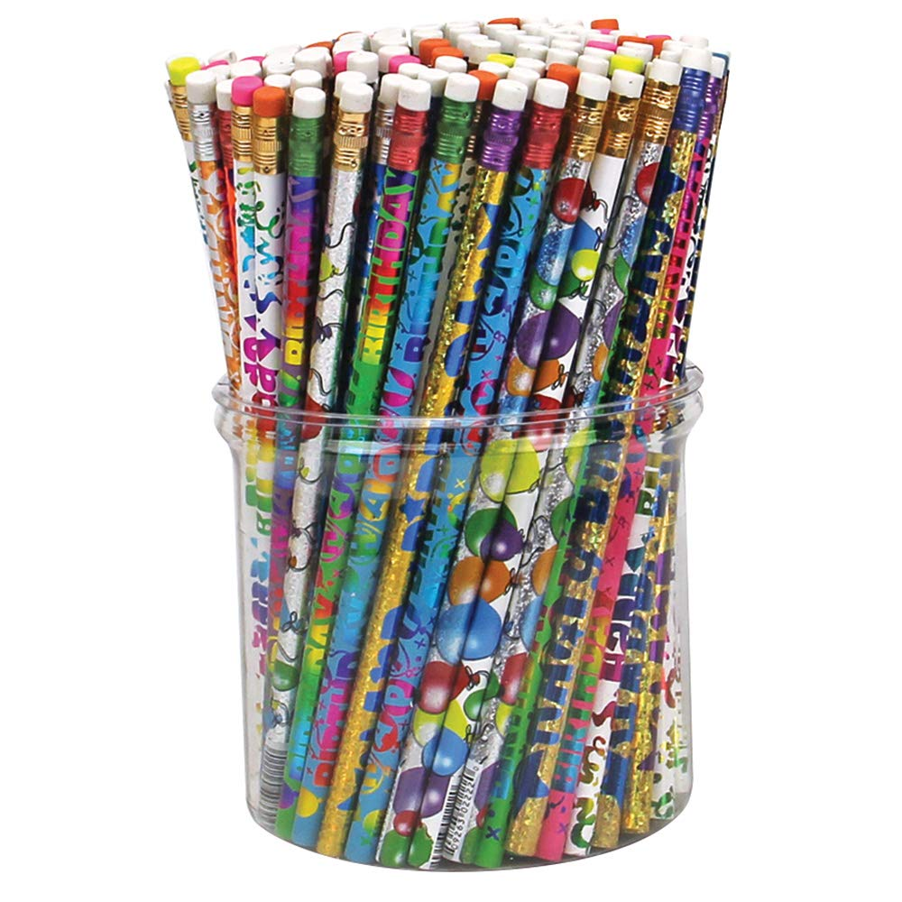 Birthday Mix Pencils, Package of 144 by Musgrave
