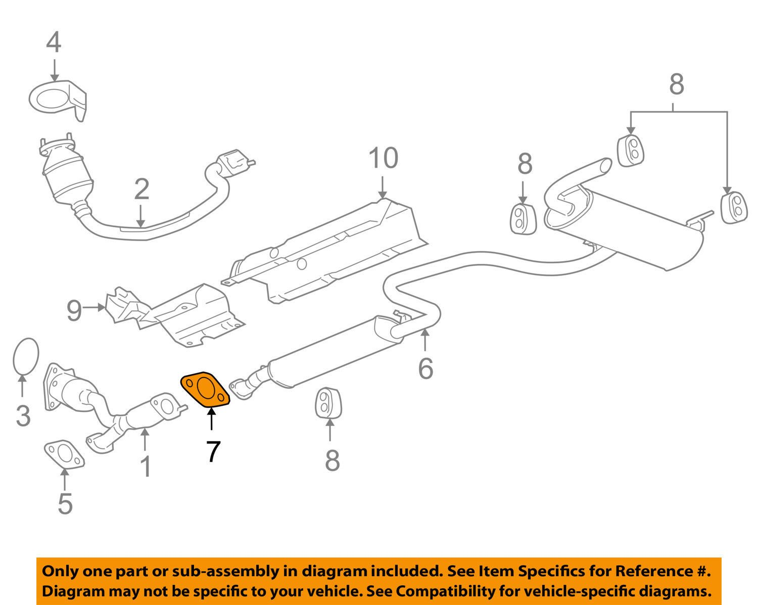 General Motors, Gasket, 22734961