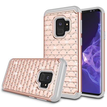 Amazon.com: Galaxy S9 Funda, Samsung S9 Niñas funda, zectoo ...