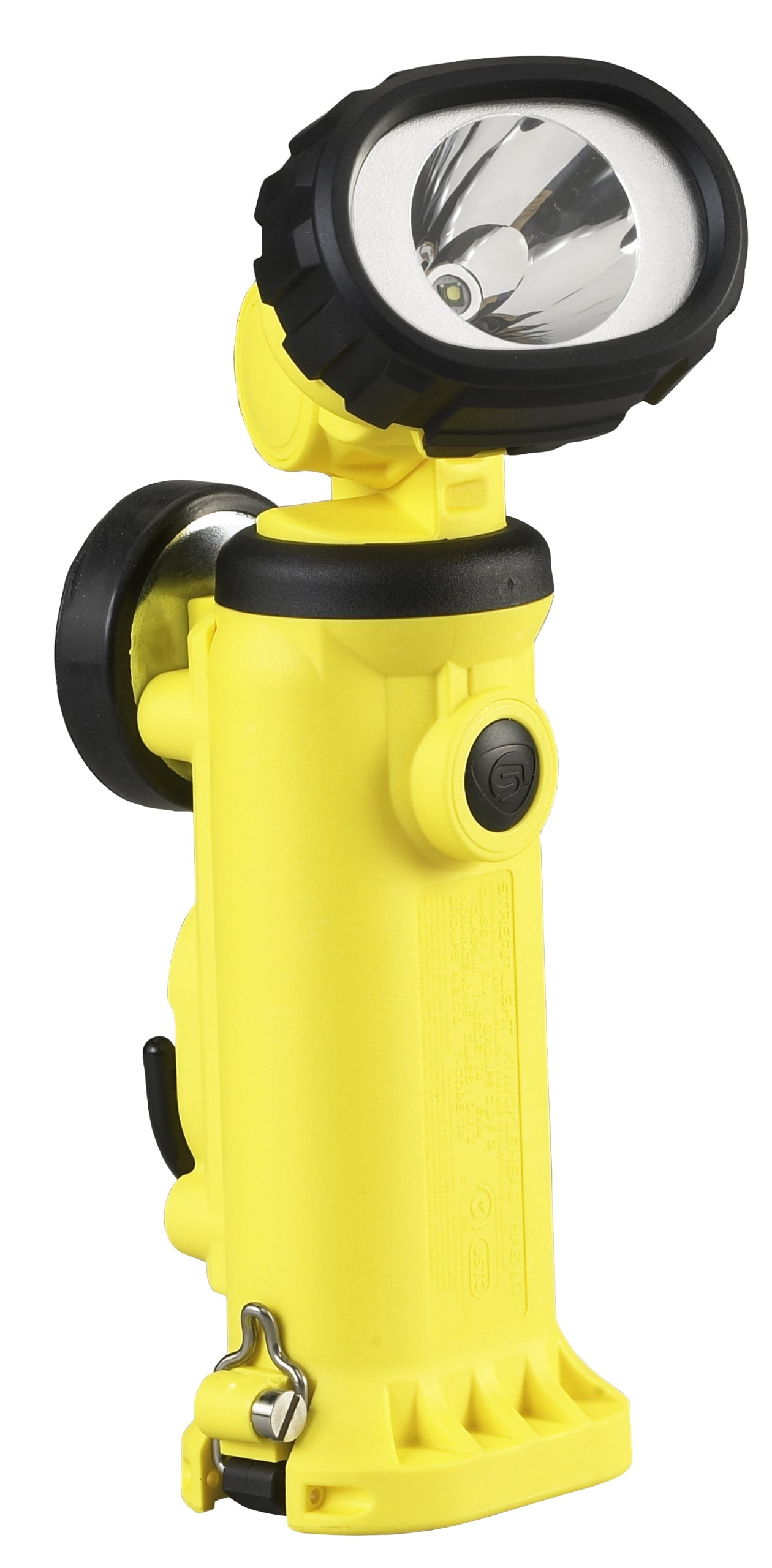 Streamlight 91727 Knucklehead HAZ-LO Rechargeable Spot Light with 120-volt AC/12-volt DC Charger, Yellow