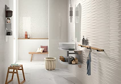 Marazzi color code bianco strutturato drape d lux cm mnxn