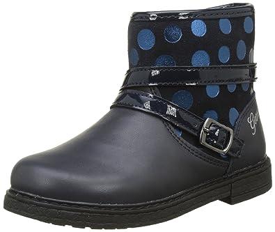 Geox Mädchen Lauflernschuh GLIMMER Leder blau, EU 22