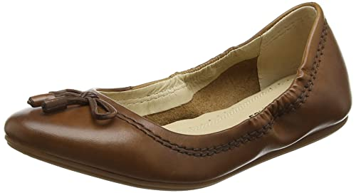 Womens Lexa Heather Bow Ballet Flats Hush Puppies